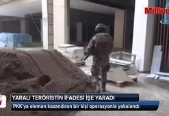 PKKya eleman kazandıran bir kişi operasyonla yakalandı