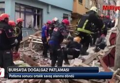 Bursada doğalgaz patlaması