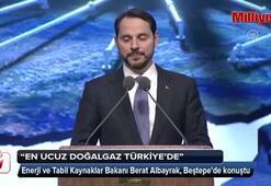 Bakan Albayrak: En ucuz doğalgaz Türkiyede