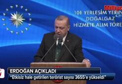 Erdoğan açıkladı: Son sayı 3655