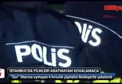 İstanbulda filmleri aratmayan kovalamaca