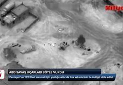 ABD savaş uçakları YPGlileri böyle korudu