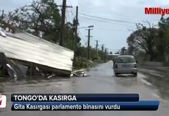 Gita Kasırgası, Tonga'da parlamento binasını vurdu