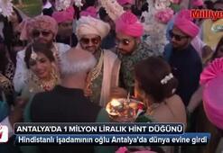 Antalyada 1 milyon liralık Hint düğünü