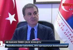 AB Bakanı Ömer Çelik açıklama yaptı
