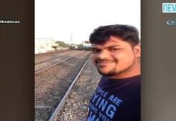 Trenle selfie kötü bitti