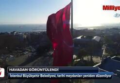 İstanbulun tarihi meydanları yeniden düzenleniyor
