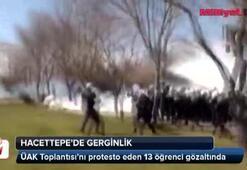 Hacettepe Üniversitesinde olaylar çıktı