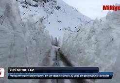 Yedi metre kar