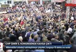 CHP İzmir İl Kongresinde yumruklar konuştu
