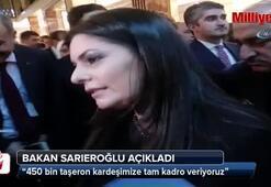 Bakan Sarıeroğlundan taşeron açıklaması
