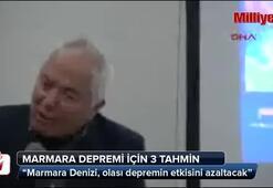 Marmara depremi için 3 tahmin