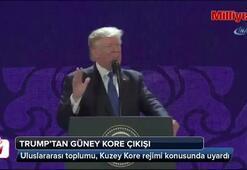 Trumptan Güney Kore çıkışı