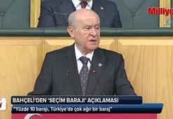 Bahçeli'den 'seçim barajı' açıklaması