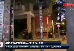 Atina'da parti binasına silahlı saldırı