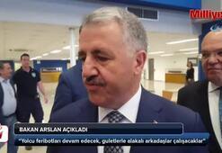 Bakan Arslan Atinada duyurdu
