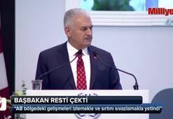 Başbakan Yıldırım resti çekti