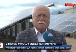 Yurt izni alamayınca güneş enerji tarlası kursu