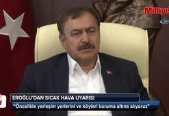 Bakan Veysel Eroğlu: Domaniç yangınını kontrol atına aldık