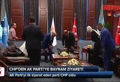CHPden AK Partiye bayram ziyareti