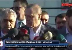 Erdoğandan bayram namazı sonrası flaş açıklamalar