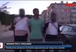 Aranan PKKlı Kütahyada yakalandı