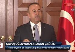 Bakan Çavuşoğlu'ndan 'Arakan' çağrısı