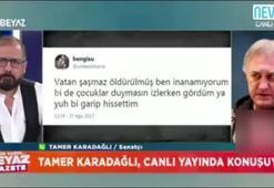 Tamer Karadağlı, Vatan Şaşmazın ölüm haberini böyle almış