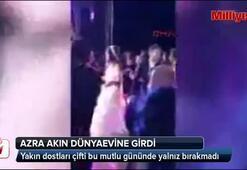 Azra Akın, Trakya usulü düğünle dünyaevine girdi