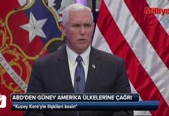 ABDden Güney Amerika ülkelerine Kuzey Kore çağrısı
