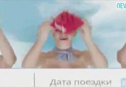 Kazakistanda çıplak hosteslerin yer aldığı reklama tepki