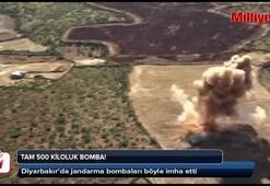 500 kiloluk tuzaklı bomba