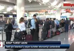 Arap turistler bayramda İstanbula akın etti