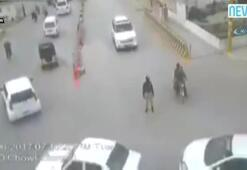 Cinayet gibi kaza kamerada