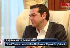 Başbakan Yıldırım Yunanistanda