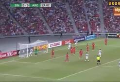Arjantin, Singapur maçında bir şey denedi: 6-0