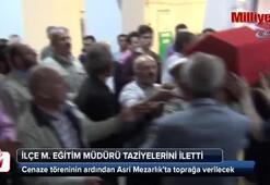 Şehit öğretmen Aybüke Yalçın'ın cenazesi Çoruma getirildi