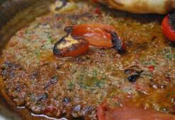 Tepsi kebaplı iftar menüsü
