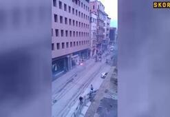 Fenerbahçe-Olympiakos taraftarları kavga etti
