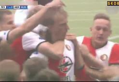 Dirk Kuyt hat-trick yaptı, 18 yıl sonra şampiyonluk geldi