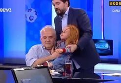 Ahmet Çakar kaybolan çocuğuna kavuştu