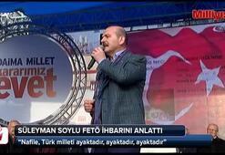Bakan Soylu, İçişleri Bakanlığına gelen FETÖ ihbarını anlattı