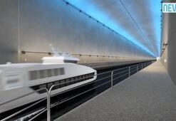 Dünyada bir ilk Gemi Tüneli