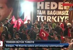 Türkiye 16 Nisandan sonra Avrupa'ya yeniden insanlık öğretecek