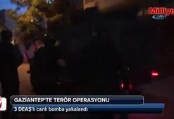 3 DEAŞ'lı canlı bomba yakalandı