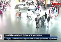 Havalimanındaki suikast kamerada