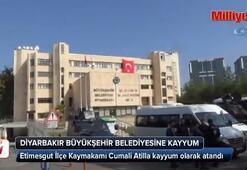 Diyarbakır Büyükşehir Belediyesine kayyum atandı