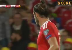 Gareth Bale sahnede Galler 4-0 Moldova