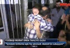FETÖ mağduru Yüzbaşı Murat Eren tahliye oldu