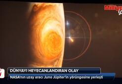 NASAnın uzay aracı Juno Jüpiter'in yörüngesine yerleşti